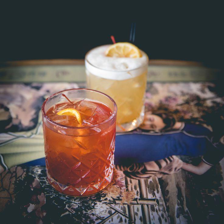 Saigon Suzy Cocktails #NagasakiNegroni #CrystalGlasses #SaigonSuzy