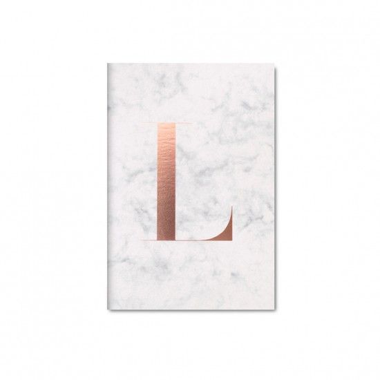 Monogram L Notebook   The Daily Edited