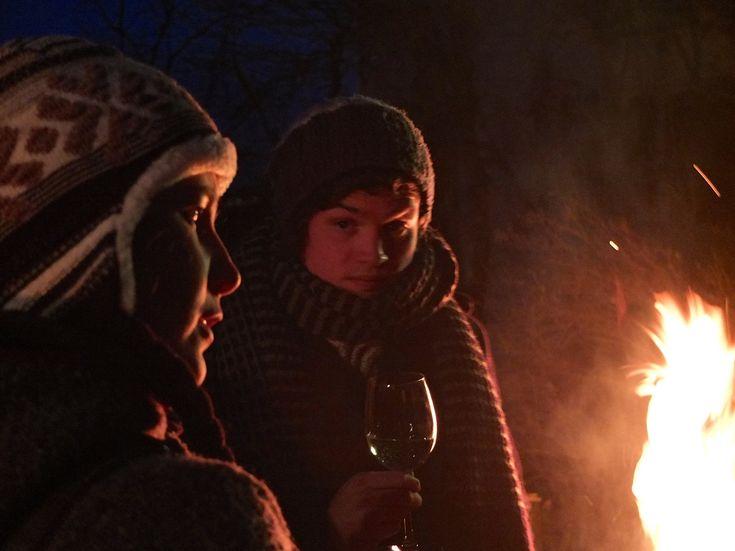 https://flic.kr/p/qynRq2   Warming Fire   Christmas 2014