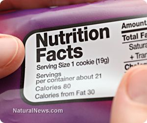 Ten food label entries that should send you running