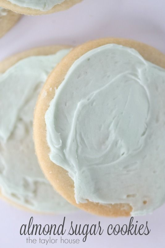 Delicious Almond Sugar Cookies that are perfect for the Holiday!