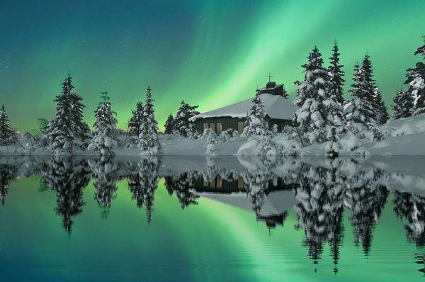 Aurora boreal en Tromsø, Noruega, tomada por Odd. Ver mas fotos de Antártida en fotosmundo.net