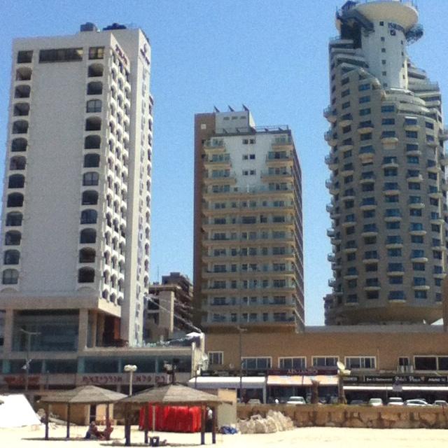 Tel Aviv, Israel. View from the beach.