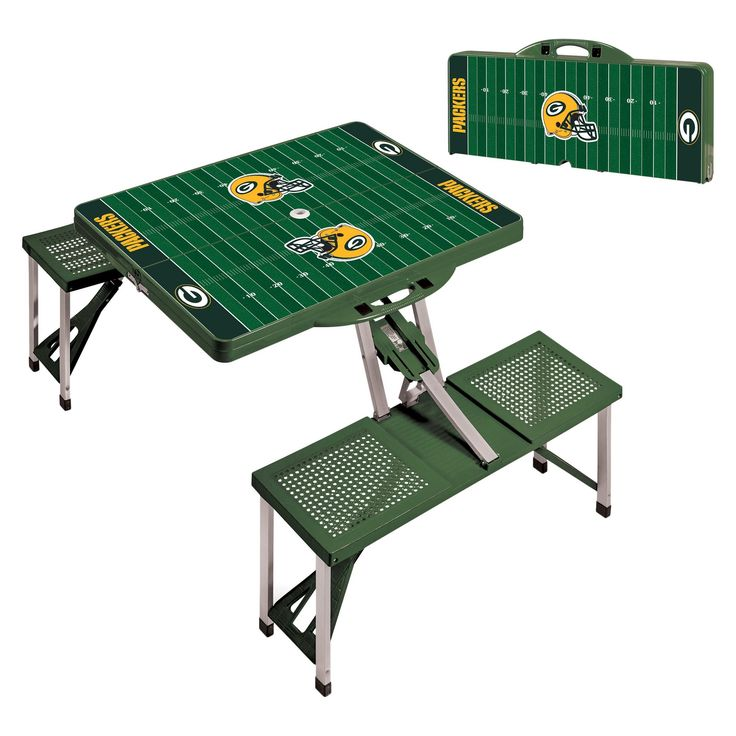 NFL Green Bay Packers Portable Picnic Table by Picnic Time