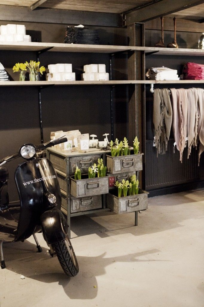 """concept store   """"the collector store""""   amsterdam   design by brickamsterdam"""