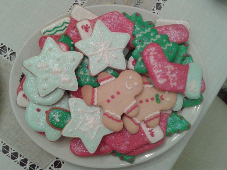 Todas las galletas decoradas para la Navidad de 2014/2015