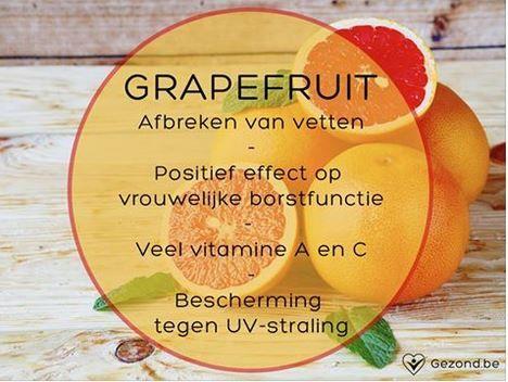 Wist je dat grapefruit je beschermt tegen UV-stralingen? #fact