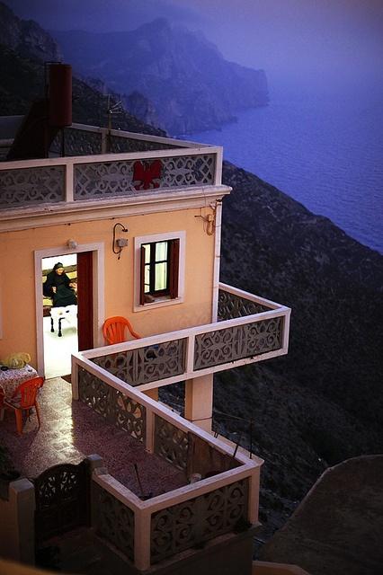 Olympos Village, Karpathos Island, Greece by Makis Siderakis