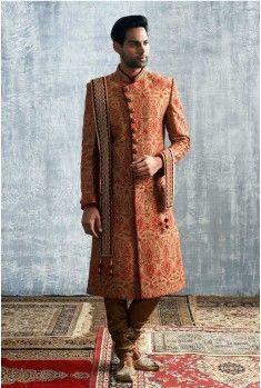 Click to see it up close. A fine Sherwani for Rs.29,999/- #Weddings #CelebrationWear #Royal #Elegant #Manyavar