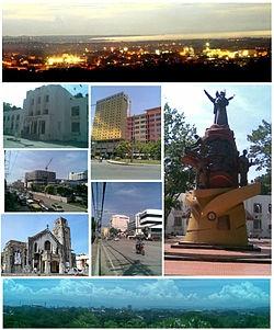 "The City of Cagayan de Oro; (/kəˈɡaɪən deɪ ˈɔəroʊ/ kə-gy-ən day ohr-oh; Cebuano: Dakbayan sa Cagayan de Oro; Filipino: Lungsod ng Cagayan de Oro) (abbreviated as CDO, CDOC, CdeO or Cag. de Oro), is the provincial capital of the province of Misamis Oriental in the Philippines. It is nicknamed the ""City of Golden Friendship"""