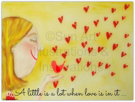 A little is a lot when love is in it