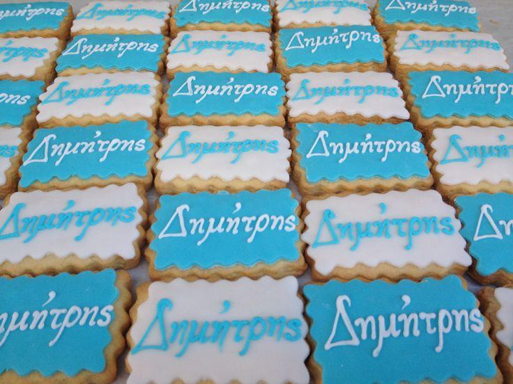 Μπισκότα με όνομα! #sugarela #mpiskota #Onoma