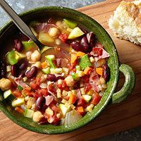 Minestrone with Tubettini and Capicola
