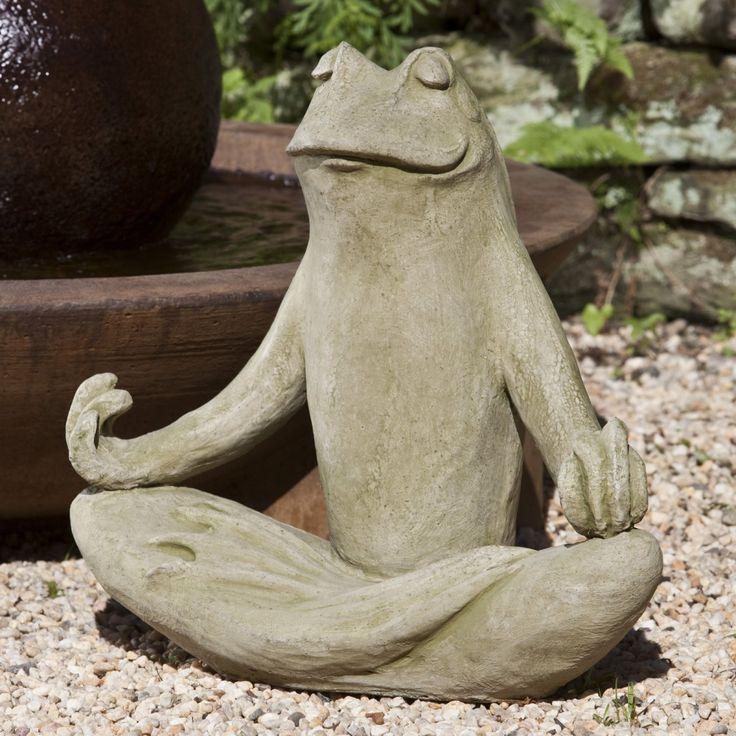 Totally Zen Frog @Connie Hanna
