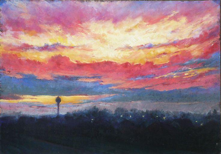 Flat 3. (Sunset - soft pastell)