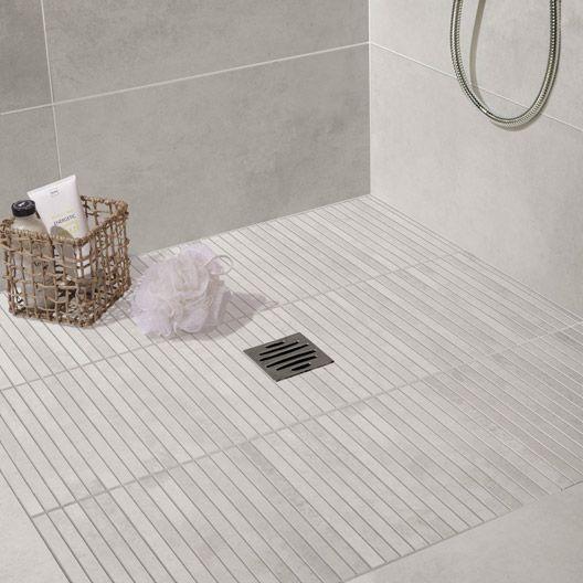 1000 images about salle de bain pro on pinterest for Carrelage 5x5 blanc