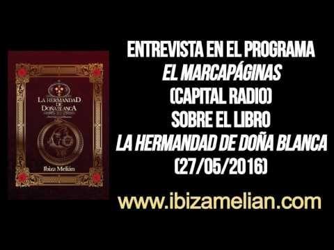 Entrevista a Ibiza Melián en el programa El Marcapáginas (27/05/2016) - YouTube