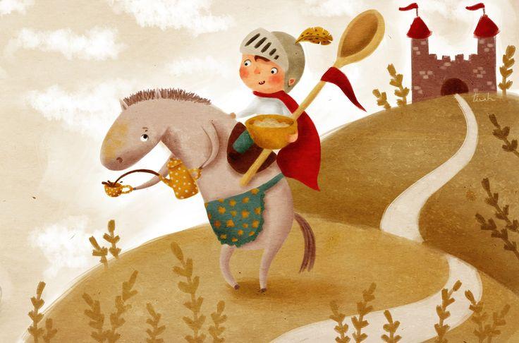 tiuh - Сэр Рыцарь и фиолетовая лошадь
