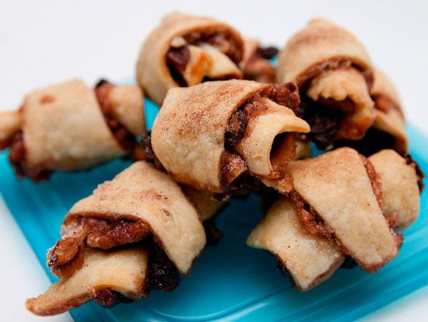 I've made rugelach several times before (mostly apricot preserves), but haven't tried these recipes.