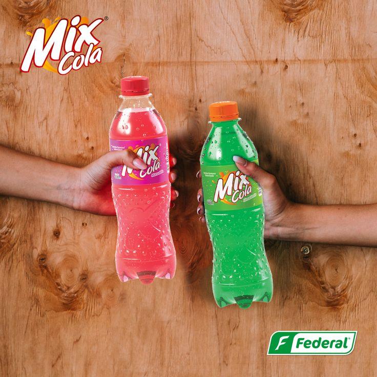 ¡Deliciosa Mezcla!  Puedes elegir la que quieras siempre que sea una Mix Cola, para ponerle el verdadero Flow a tu día.  #DondeHayMixHayFlow