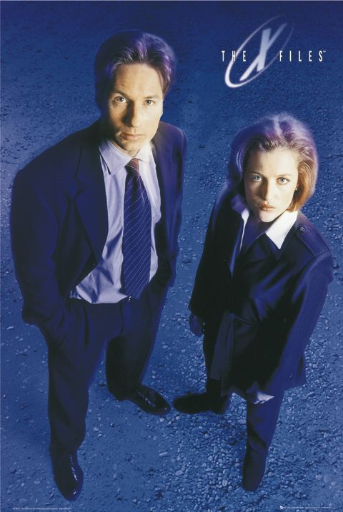 The X Files... I remember watching this with Dad but I was always so scared but didn't want to admit it b/c I just wanted to spend time with him :)