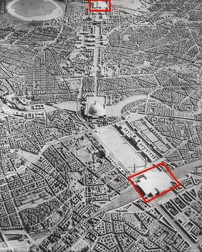 Реконструкция Берлина при Гитлере, арх. Альберт Шпеер (макет), 30-е годы