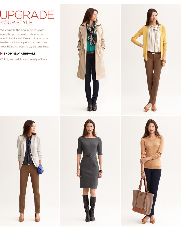 """Features a tall women's shop on their website, designed for women 5'8 1/2 – 5' Their clothing is good quality, and they have a decent selection of outerwear and blazers. Pant inseams are 36""""."""