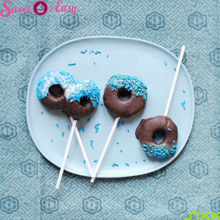 Schoko-Donut #Cakepops! Ein Hingucker auf jeder Party