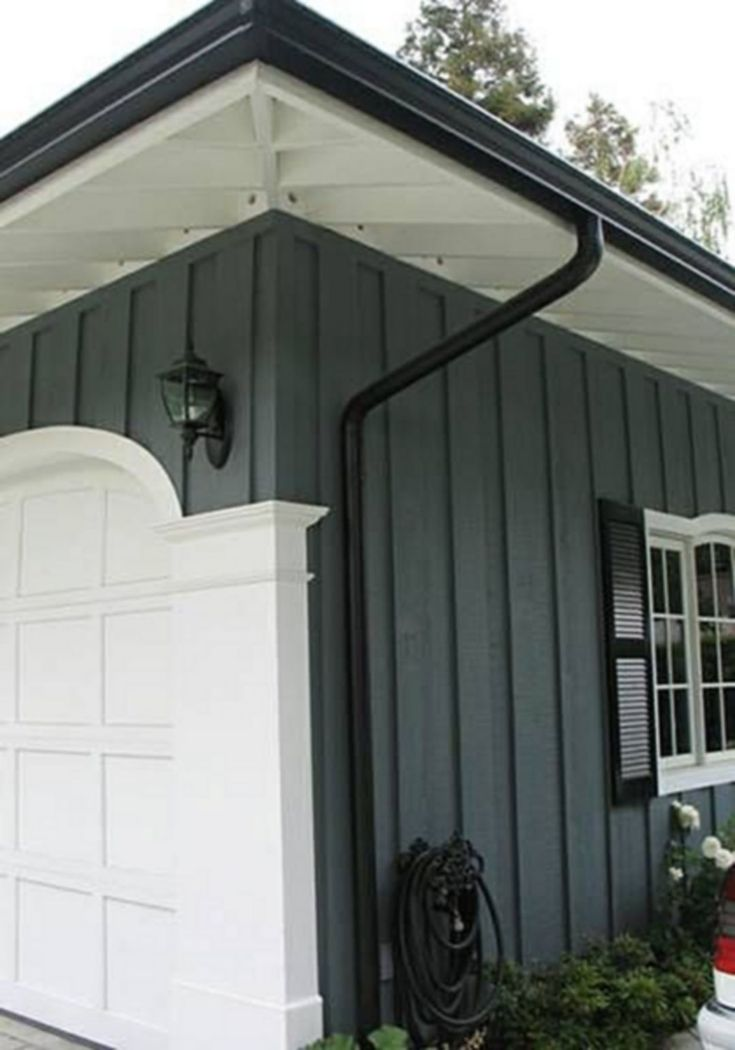 20 Elegant Home Water Roof With Black Gutters Ideas For