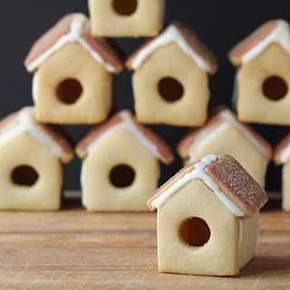 Cinnamon Birdhouse Cookies