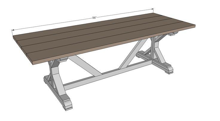 Best 25+ Outdoor farm table ideas on Pinterest | Outdoor ...