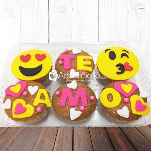Regalos amor y amistad Cali Cupcakes Te amo Emojis