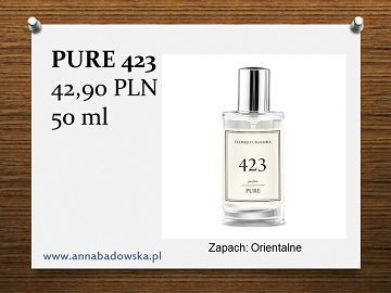 Perfumy PURE 423 damskie orientalne