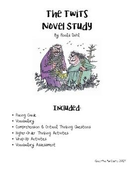 This is complete novel study includes a pacing guide, vocabulary, weekly questions, extension activities, wrap-up assessments and a vocabulary assessment. It can be broken apart and used at your leisure, or used for a complete guided reading small group!