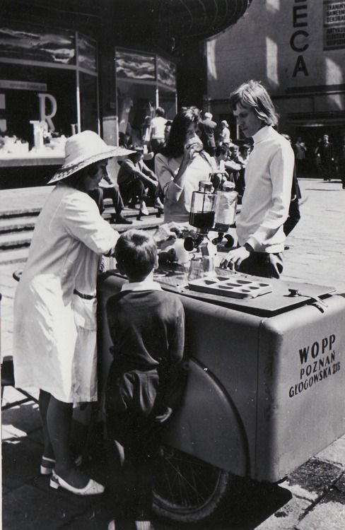 Poznań Poland, kadr z roku 1971