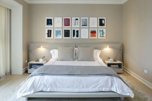 uzun yatak basi modelleri ahsap metal aksesuarli basucu aydinlatmalar cekmece ve raflar (9)