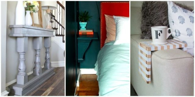 10 Ways to Squeeze Furniture Into Small Spaces :: These crafty homeowners made the most of what they had.