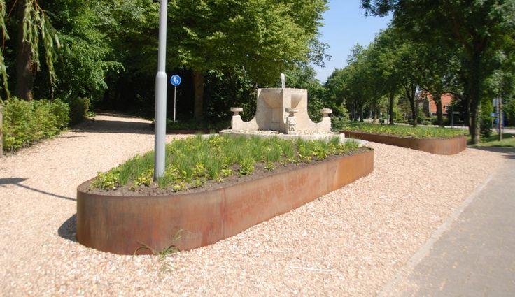 Borders voor de openbare ruimte in de gemeente Zaltbommel. #borders #plantenborder #tuinontwerp