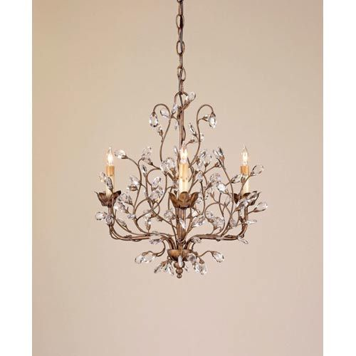 Crystal Bud Small Chandelier Love This But