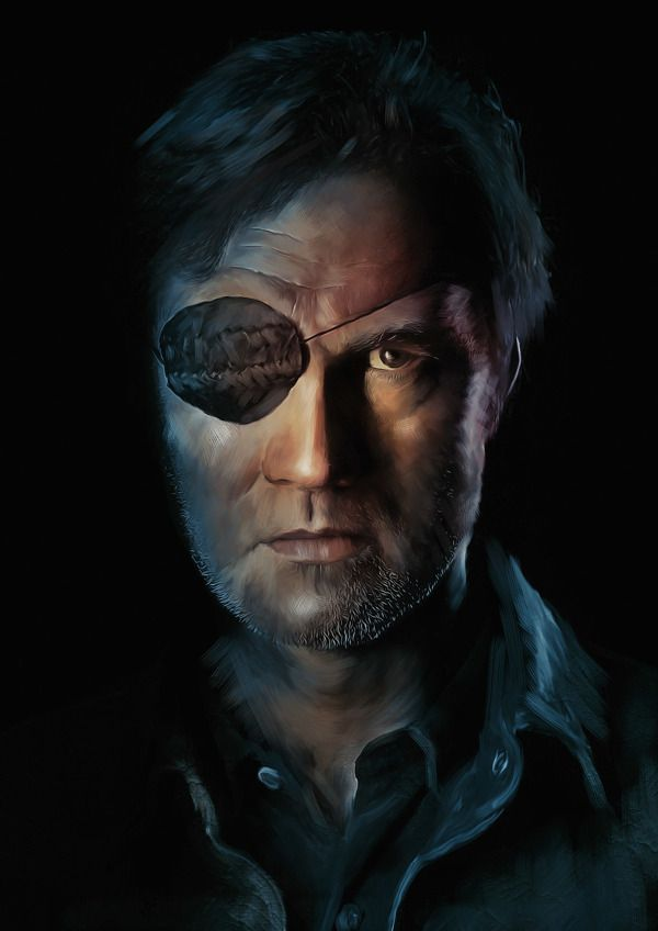 The Governor ~ The Walking Dead by Richard Davies, via Behance