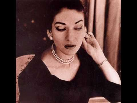 """Maria Callas sings an aria from """"Madame Butterfly."""" This aria is very well known, but the name is not given in the description."""