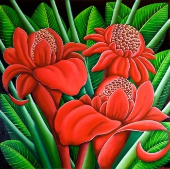 Tropical Torch Ginger