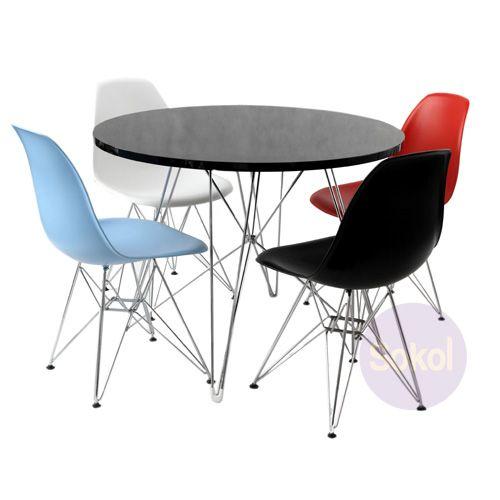 Replica Eames Eiffel Table | Sokol Designer Furniture | Furniture |  Pinterest | Eames Furniture