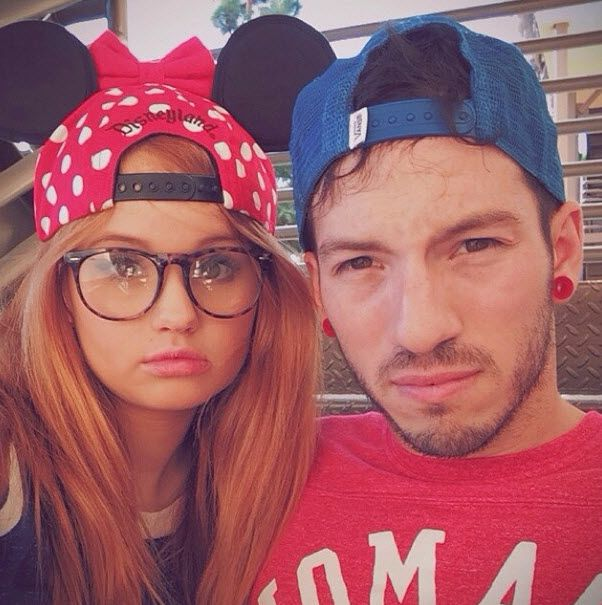 Throwback Thursday Photo: Debby Ryan And Her Boyfriend At Disneyland November 7, 2013