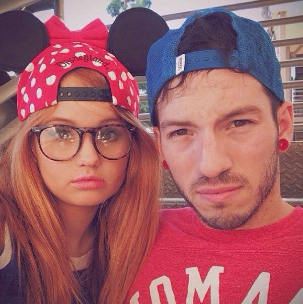 Throwback Thursday Photo: Debby Ryan And Her Boyfriend At Disneyland November 7, 2013