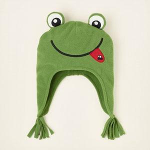 Fleece Frog Hat