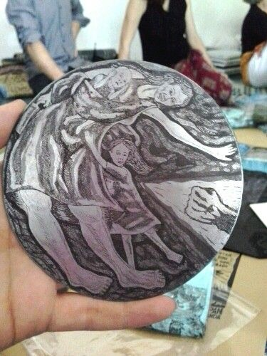 Etching plate by Taring Padi                                                                                                                                                                                 More
