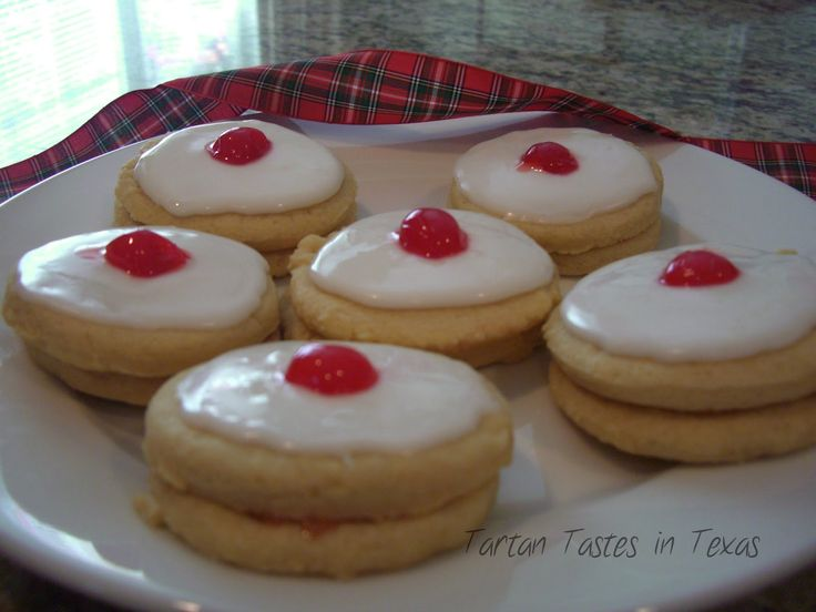 Scottish Empire Biscuits....family christmas tradition. it's not christmas without these.
