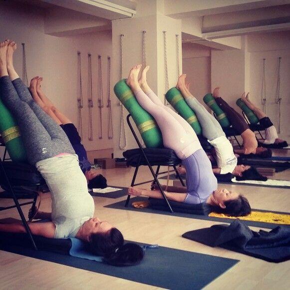 Accessoires yoga en ligne for Chaise yoga iyengar