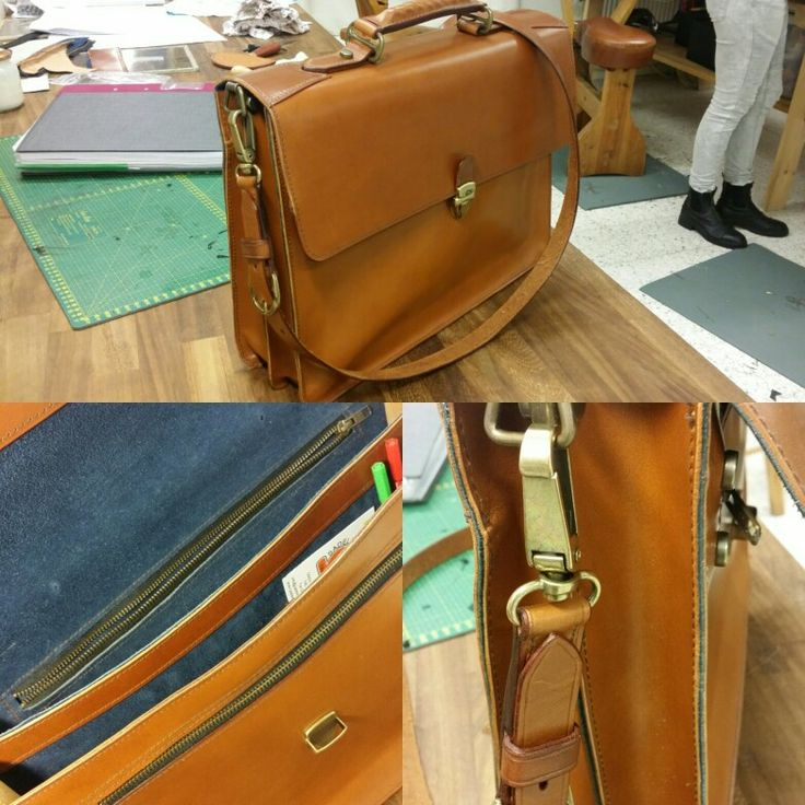 Finished Attaché bag and satisfied with the result